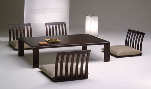 japanese dining table low 1