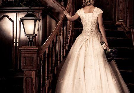 LDS Wedding In Mesa Arizona 4 Wedding Dress