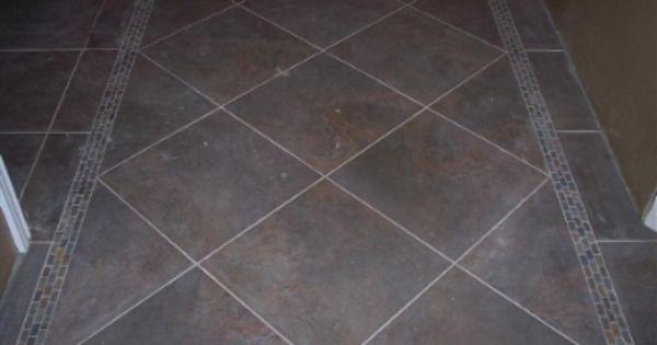 Entry way tile pattern ideas copyright 2011 jl tile for Slate floor patterns
