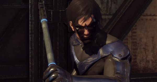 Batman Arkham City Nightwing Gameplay Dlc Review Combat