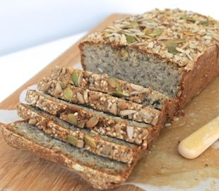 Quinoa Super Seed Bread Live Love Nourish Recipe Recipes Quinoa Bread Healthy Honey