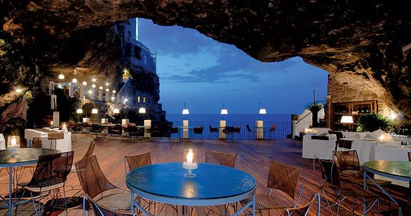 Bucket List: Puglia's cave restaurants and bars in Italy. travel bucketlist