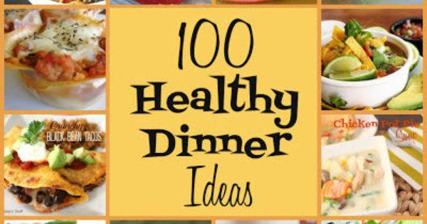 100 Healthy Dinner Recipes [ Borsarifoods.com ] healthy recipes food