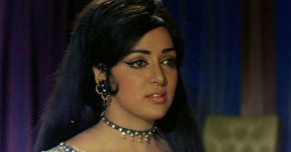 164 Best Rekha Gemini Ganesan Images On Pinterest: Bollywood Movie Fashion: Hema Malini In Raja Jani (1972