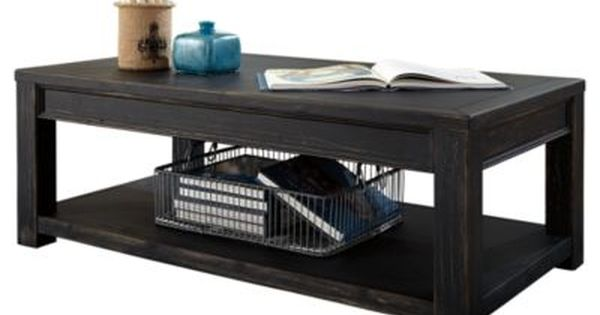 Gavelston Coffee Table By Ashley Homestore Black Furniture
