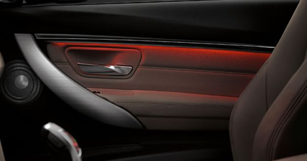 Ambient Lighting In The Bmw 3series Creates A Driving Experience