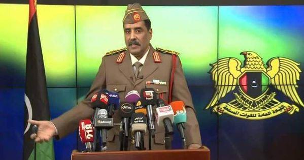عاجل الجيش الوطني الليبي يفرض حظرا جويا فوق طرابلس Scenes Talk Show Shows
