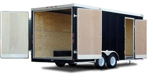 Pin By Trailers For Less On Haulmark Cargo Trailers Boat Storage Trailer Storage Equipment Trailers