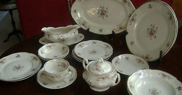 Vintage-China-Dinnerware-Pattern-9025-Chodziez-made-in ...