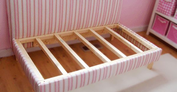 diy upholstered toddler bed - this would be a great daybed/couch in