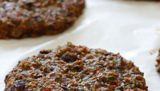 Spicy Black Bean Burgers with Chipotle Mayonnaise | Black Bean Burgers ...