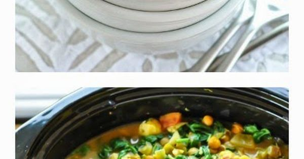 Stew, Chickpeas and Vegetables on Pinterest