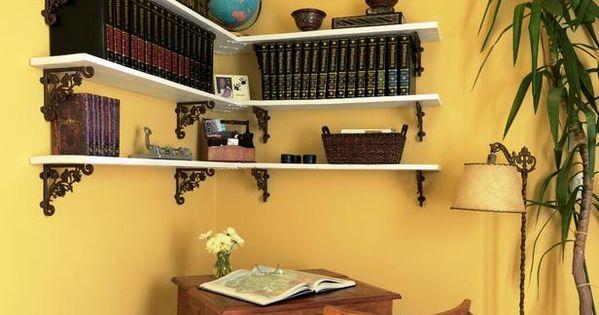 how to make shelf brackets