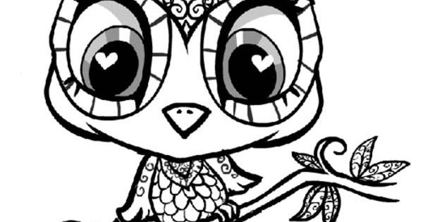 Owl Coloring Pictures To Print
