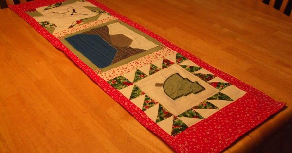Wedding Gifts For Runners : ... Wedding Gift to a Chinese Couple Quilted Table Runners, Wedding