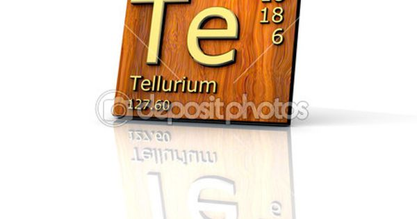 Tabela de telúrio forma periódica dos elementos - placa de madeira - copy tabla periodica dinamica interactiva