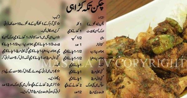 Chicken Handi Recipe In Urdu By Shireen Anwer