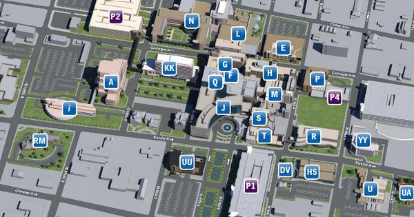 cleveland clinic main campus map the architectures of the