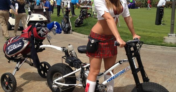 Hanebrink Electric Bike Which Double As Golf Cart