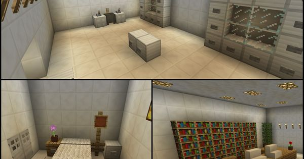 Minecraft Operating Room Hospital Doctor Waiting Room