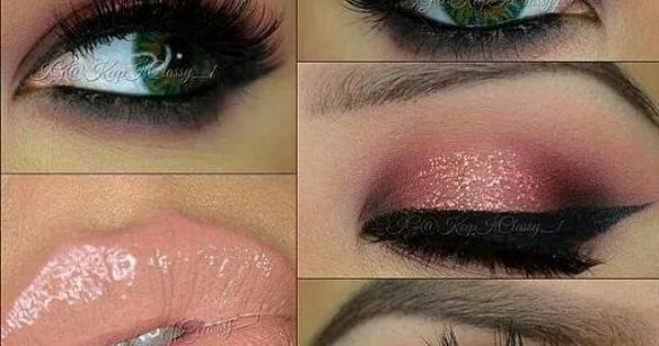 Love this look- sassy, giddy, curious, and corrupted Moodstruck Mineral Pigments finished