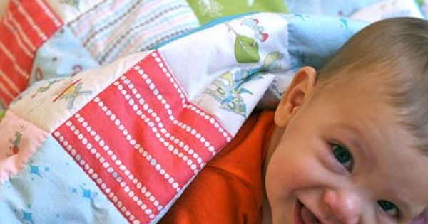 cheater quilts from Prudent Baby. Great quick baby gift