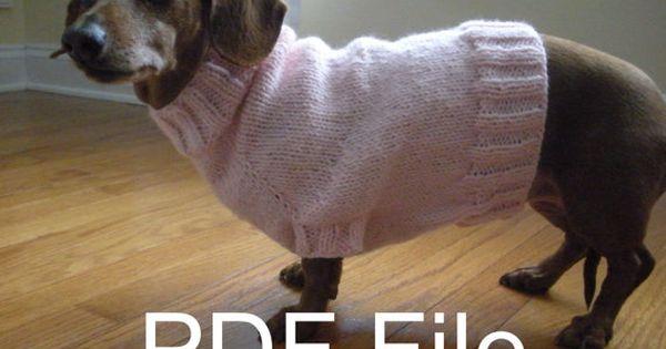 Free Crochet Patterns For Dachshund Sweaters Free Crochet Pattern