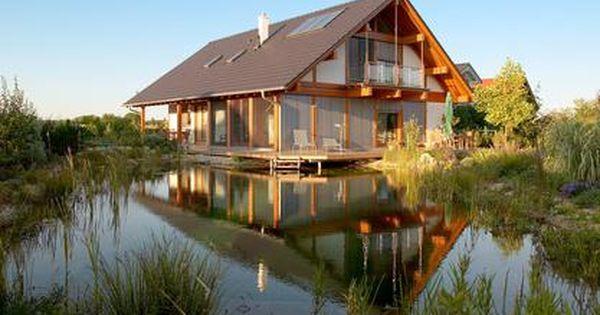 Schwimmteich Anlegen Badespass Im Naturpool Haus Kaufen In Schweden Schwimmteich Bauen Schwimmteich