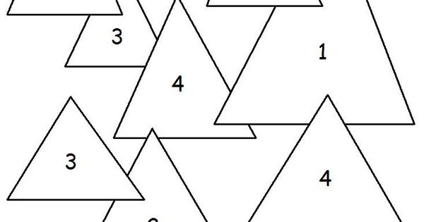 Triangle Worksheets And Coloring Pages