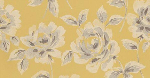 Floral Rose 128018 Esta Home Wallpapers An Elegant Floral Rose Design In A Hand Painted