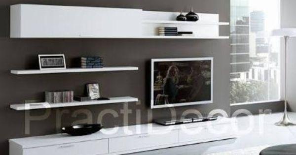 Pin By Enida Mera On Decoration Home Living Room Living Room Tv Wall Interior Design Living Room