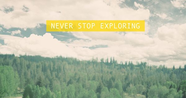 {never stop exploring} We are becoming the road trip junky family.
