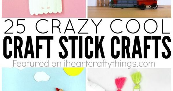 25 Crazy Awesome Home Staircase Designs: 25 Crazy Cool Craft Stick Crafts For Kids
