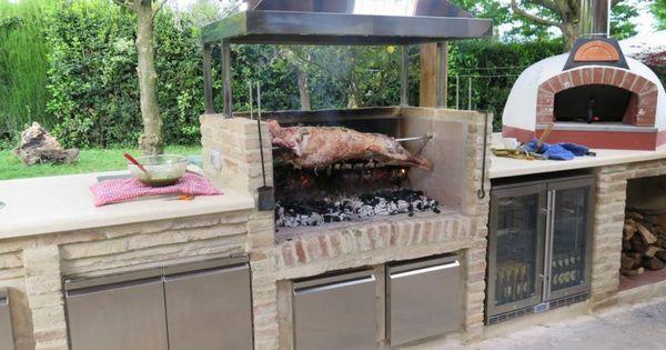 Outdoor Küche: Kochen im Garten | Outdoor küche, Neue trends und Grill