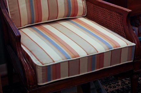 diy replacing foam in a lounge chair