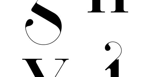Glyphs from Paris font.