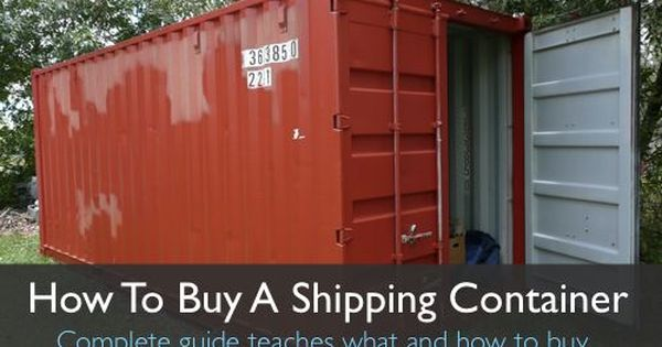 How To Buy A Shipping Container homestead-and-sur ...