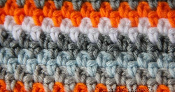 Crochet Moss stitch. Odd no. of stitches then sc1, ch1, repeat... At ...