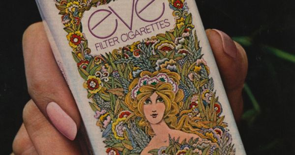 Eve Filter Cigarettes--remember these!-- my friend and I tried Eve cigarettes and