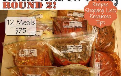 Freezer Crock Pot Meals I had pinned her Round 1 and put