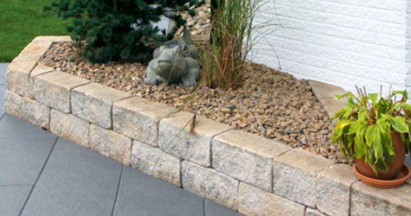 Mooie stenen voor verhoogde borders tuin inspiratie pinterest stenen tuin en idee n for Tuin decoratie met stenen