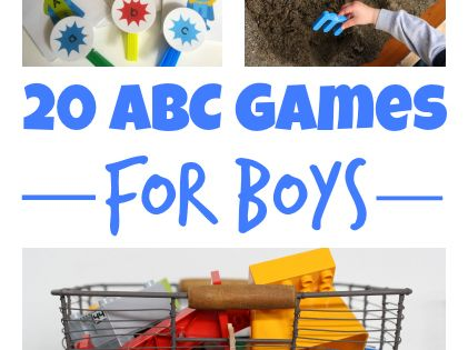 20 Awesome ABC Games for Boys AND GIRLS!!!