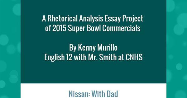 rhetorical essay structure