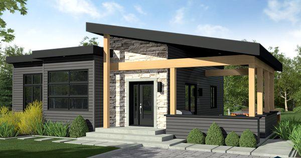 designer zen contemporain lap0516 maison laprise maisons pr usin es mod les maisons. Black Bedroom Furniture Sets. Home Design Ideas
