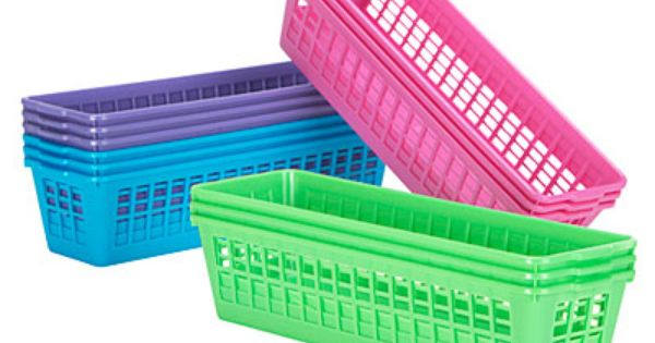 Basic Slim Storage Basket 3 Pack At Big Lots Decor