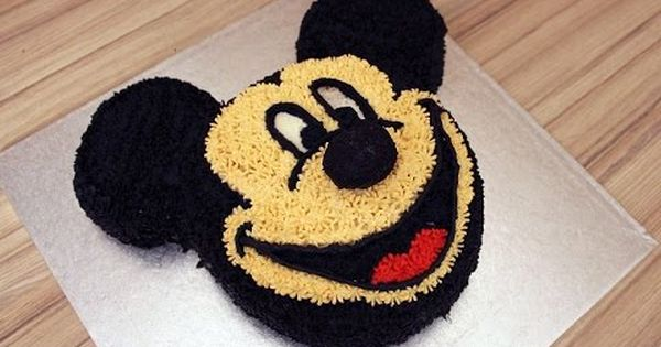 Mickey Mouse Cake With Whipped Cream No Fondant How To Make En Subtitle Micky Maus Torte Torten Selber Machen Micky Maus