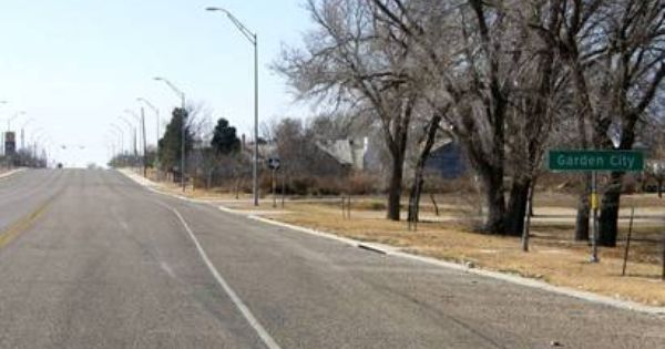 Garden City Texas City Garden City County Seat