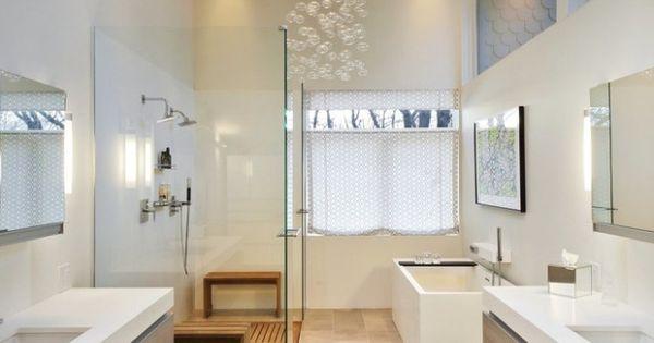 D co scandinave salle de bains en 32 id es charmantes - Salle de bain de reve ...