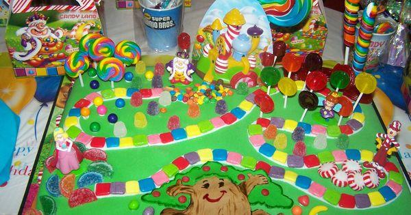 Candyland Birthday Cake Candyland Children S Birthday