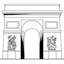France Coloring Pages Arc Of Triumph House Colouring Pages Coloring Pages Free Online Coloring